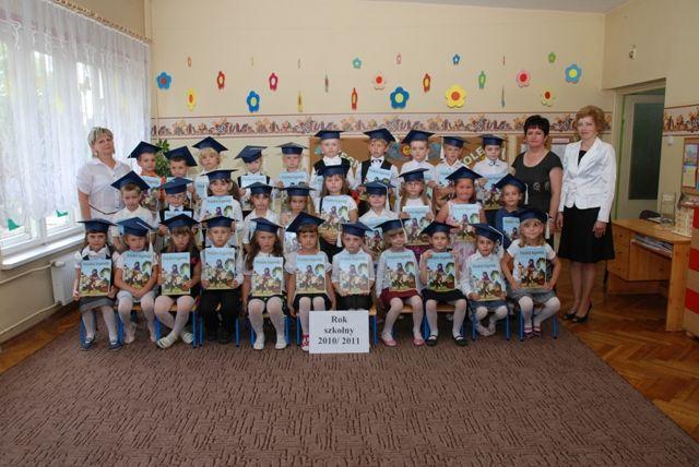 Absolwenci Przedszkola 2010